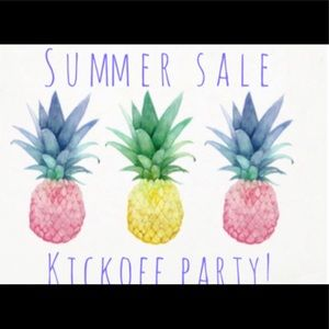 Other - 🏖SUMMER SALE KICKOFF PARTY🏖